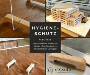 Trennwände aus Plexiglas für Hygieneschutz