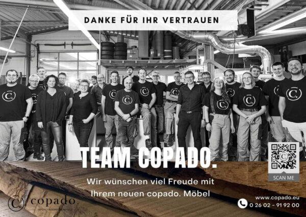 Team copado. dankt für das Vertrauen