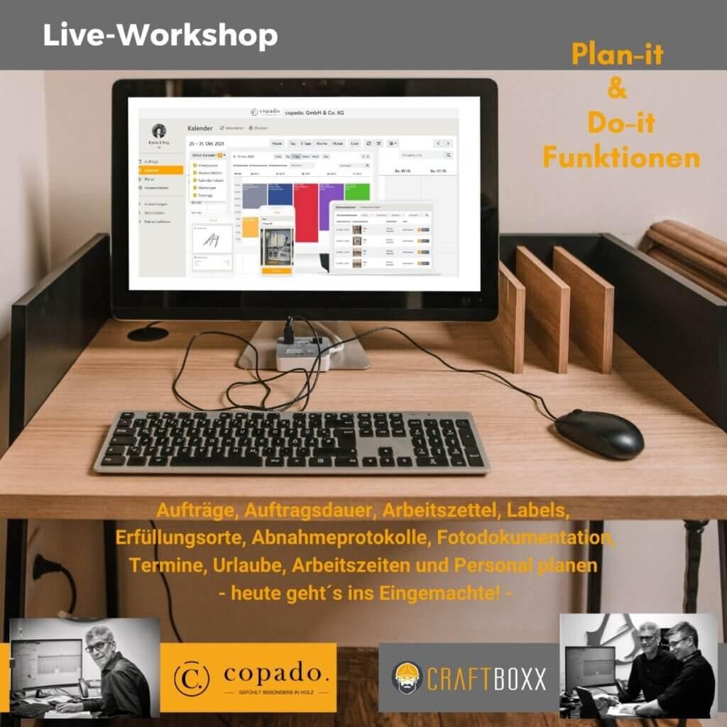 Workshop CRAFTBOXX inhouse bei copado. GmbH & Co. KG